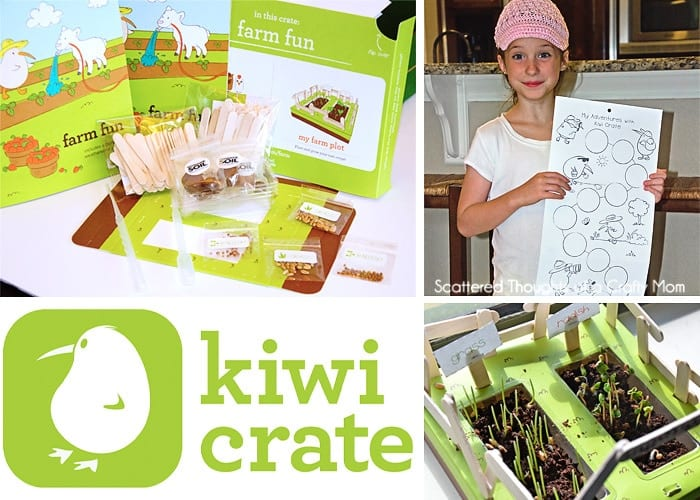 Thinking about giving a Kiwi Crate Box or a craft subscriptionbox as a gift? Here is our experience and a Kiwi Crate Review: