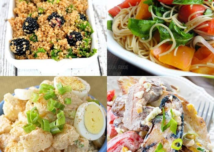 7 Summery Salad and Slaw Recipes & Inpiration Monday