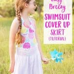 Easy Swimsuit Cover Up Skirt