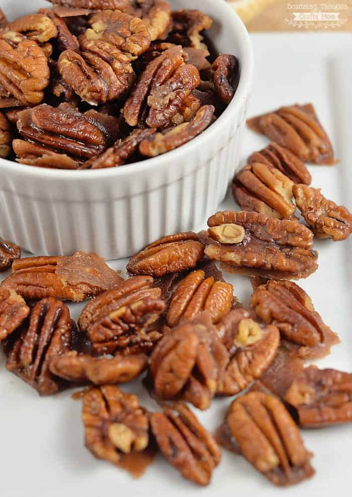 Sugar Free Candied Pecans (the perfect low carb, keto friendly snack!)