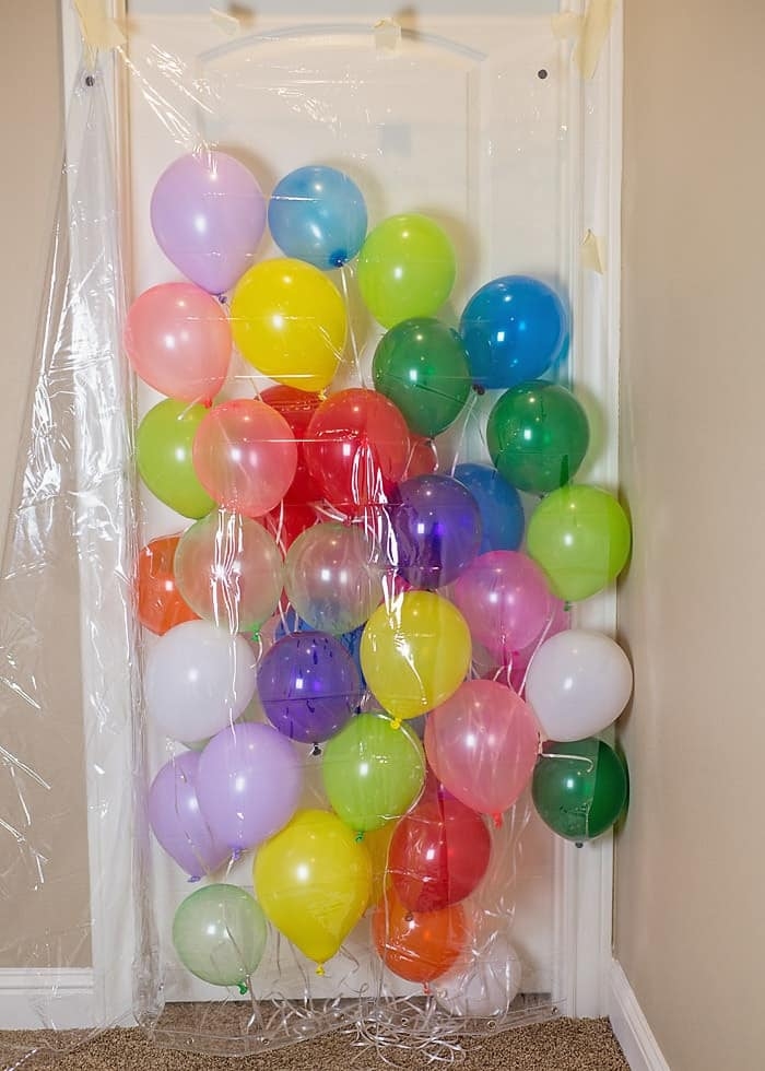 How to make a Balloon Avalanche!