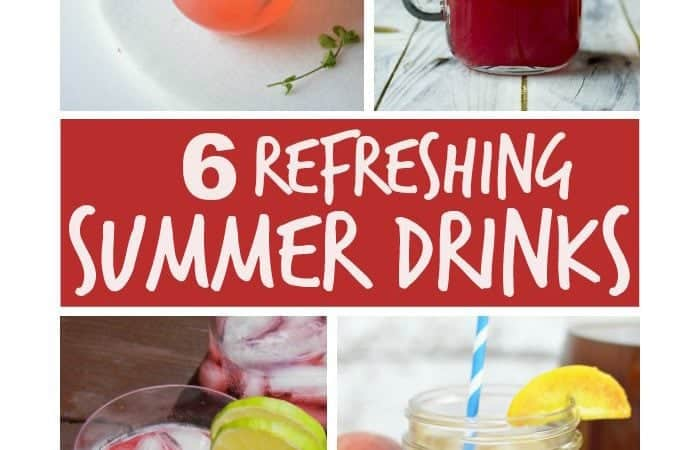 6 Refreshing Summer Drinks plus Inspiration Monday