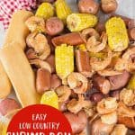 Easy Low Country Shrimp Boil in the Pressure Cooker