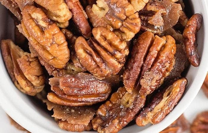 Sugar Free Candied Pecans