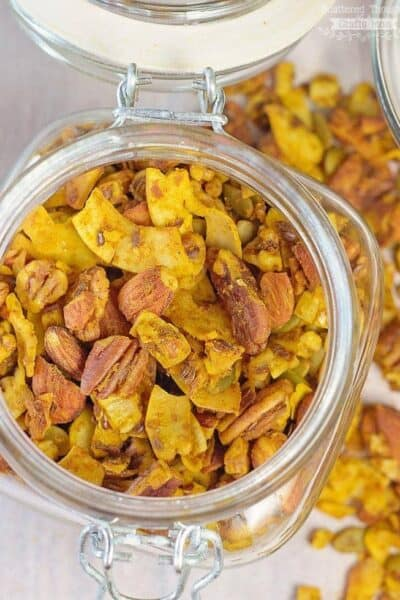 Sugar-Free Pumpkin Pie Granola Recipe (low carb)