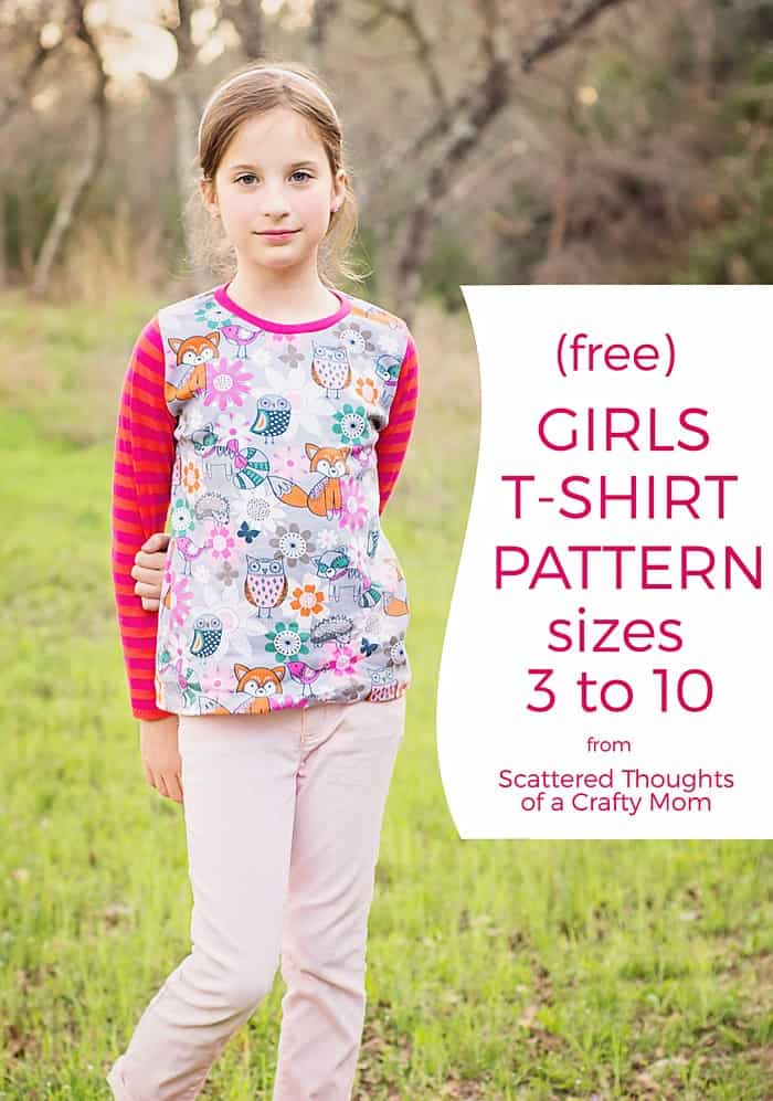 23 Free Multi Sized Pdf Sewing Patterns For School