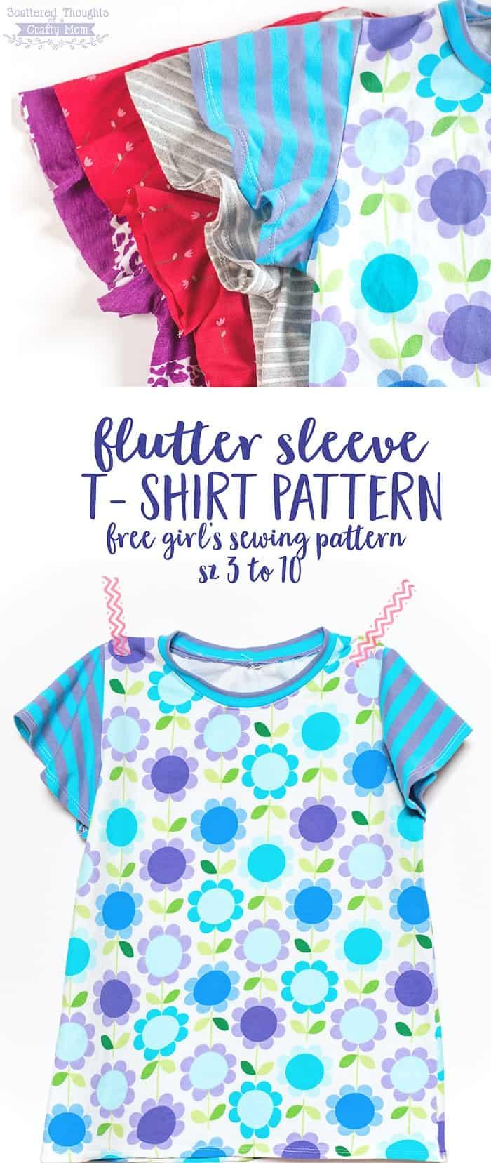 flutter-sleeve-t-shirt-pattern-free
