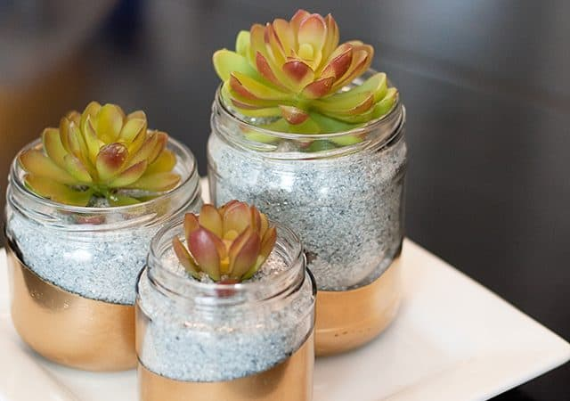 10 Amazing Upcycled Glass Jar Projects (plus giveaway)