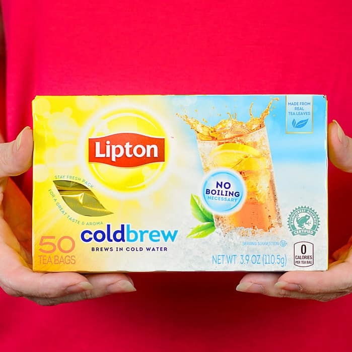 lipton iced tea powder instructions