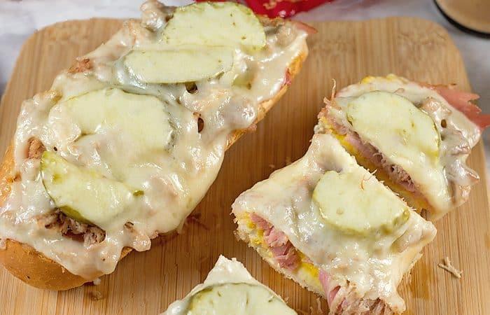 Cuban French Bread Pizza Recipe