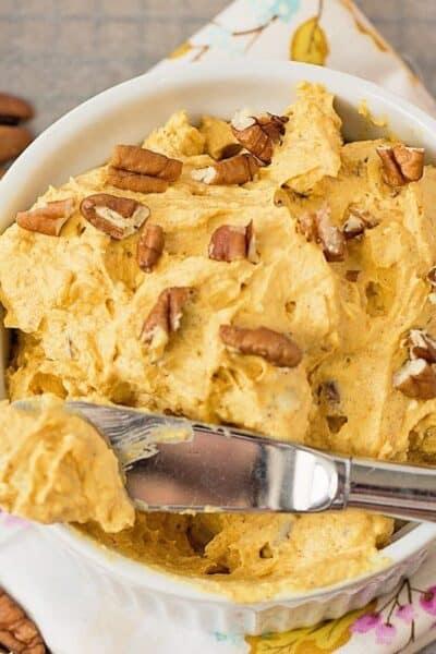 Whipped Pumpkin Cream Cheese Recipe