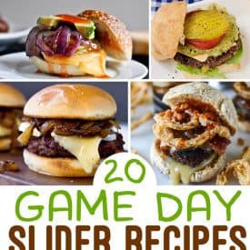 20 Game Day Burger Slider Recipes