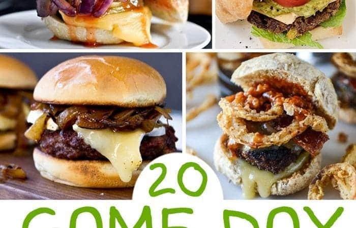 20 Game Day Burger Slider Recipes