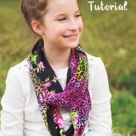 Reversible Infinity Scarf Tutorial