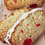 Cherry Eggnog Quick Bread Recipe