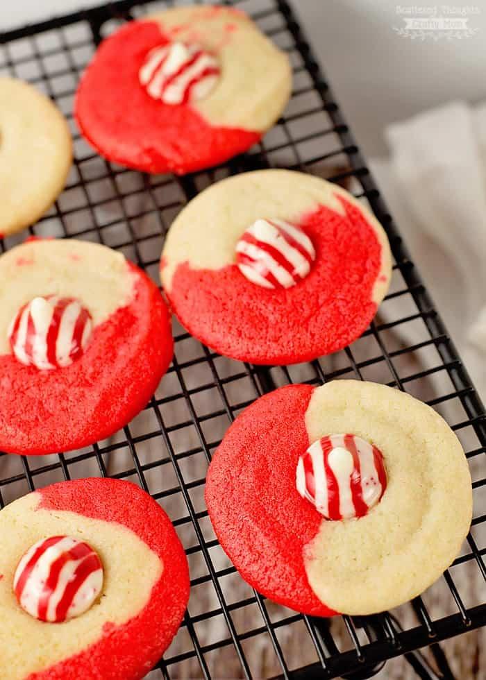 Peppermint Twist Sugar Cookies