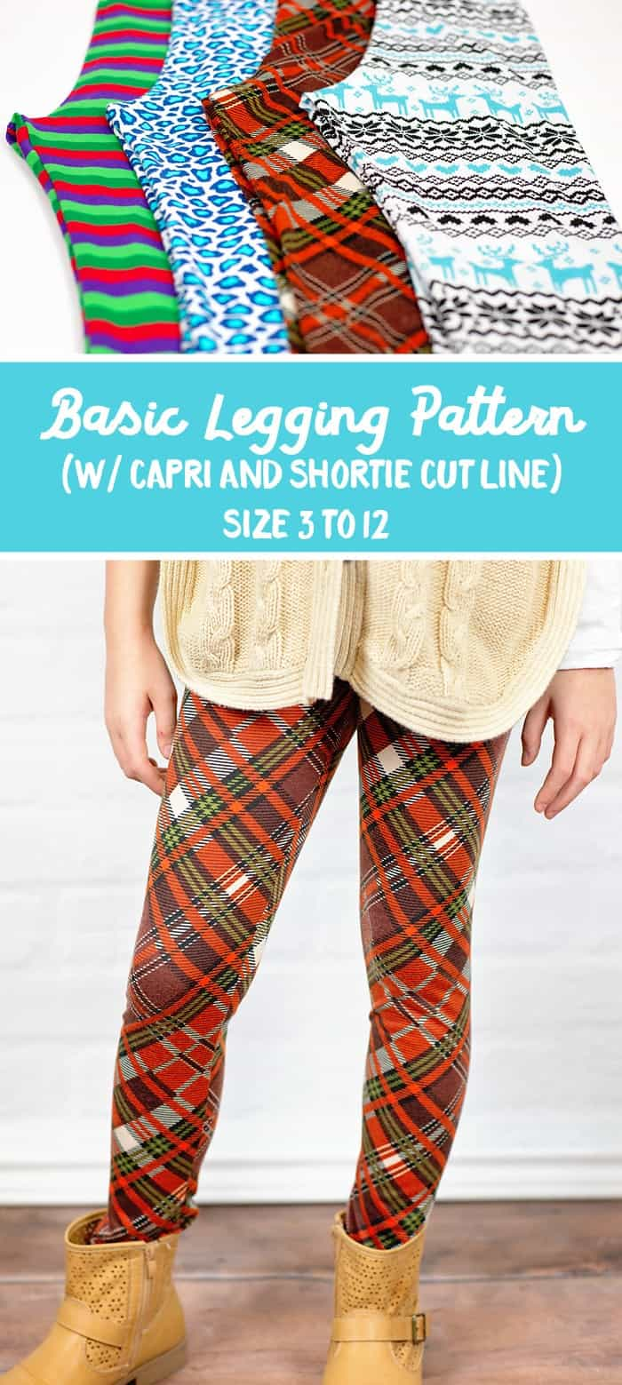 Free Basic Legging Pattern