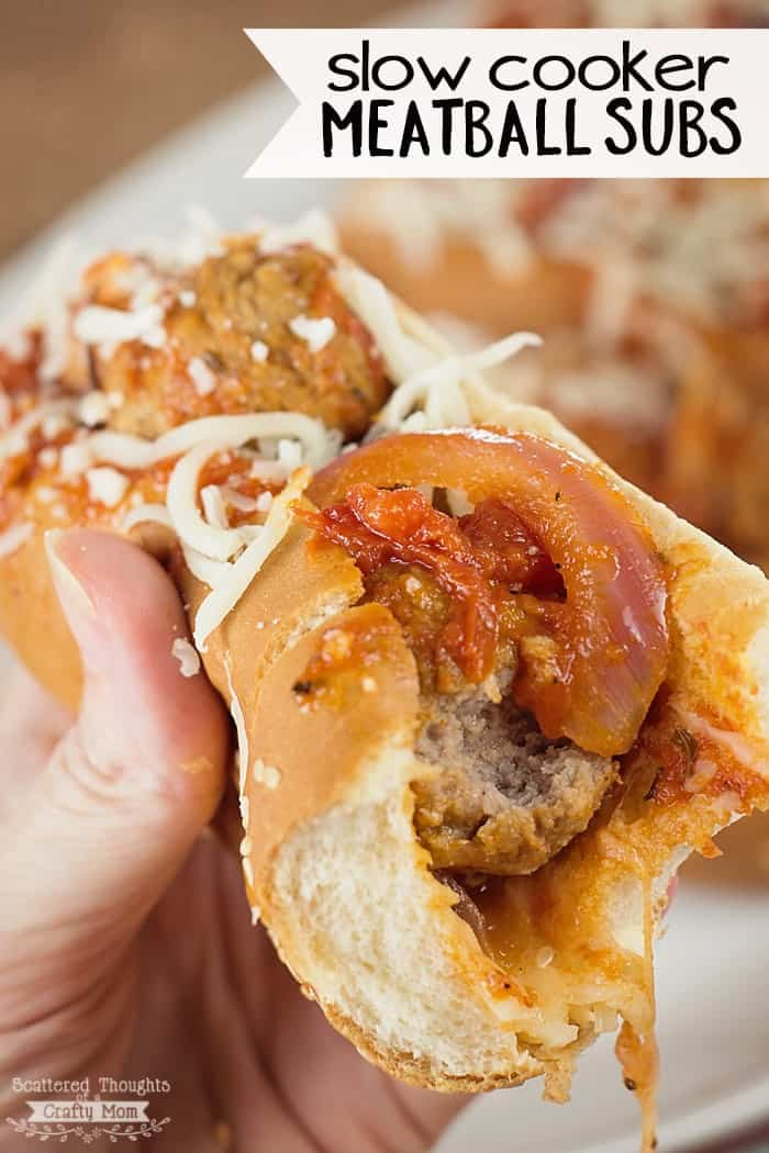 and meatballs easy slow cooker meatball subs 2 simple slow cooker ...