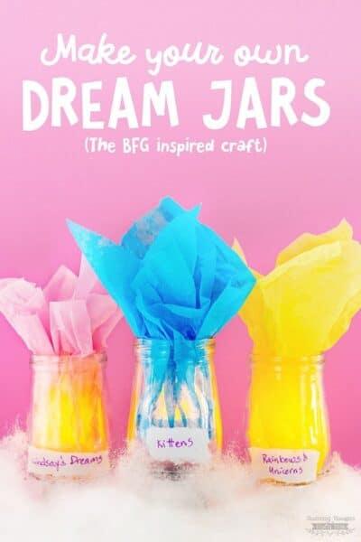 DIY Dream Jars (BFG Inspired Kid's Craft)