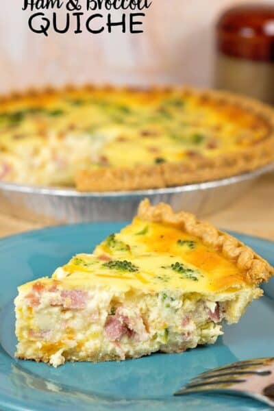 Easy Ham and Broccoli Quiche Recipe