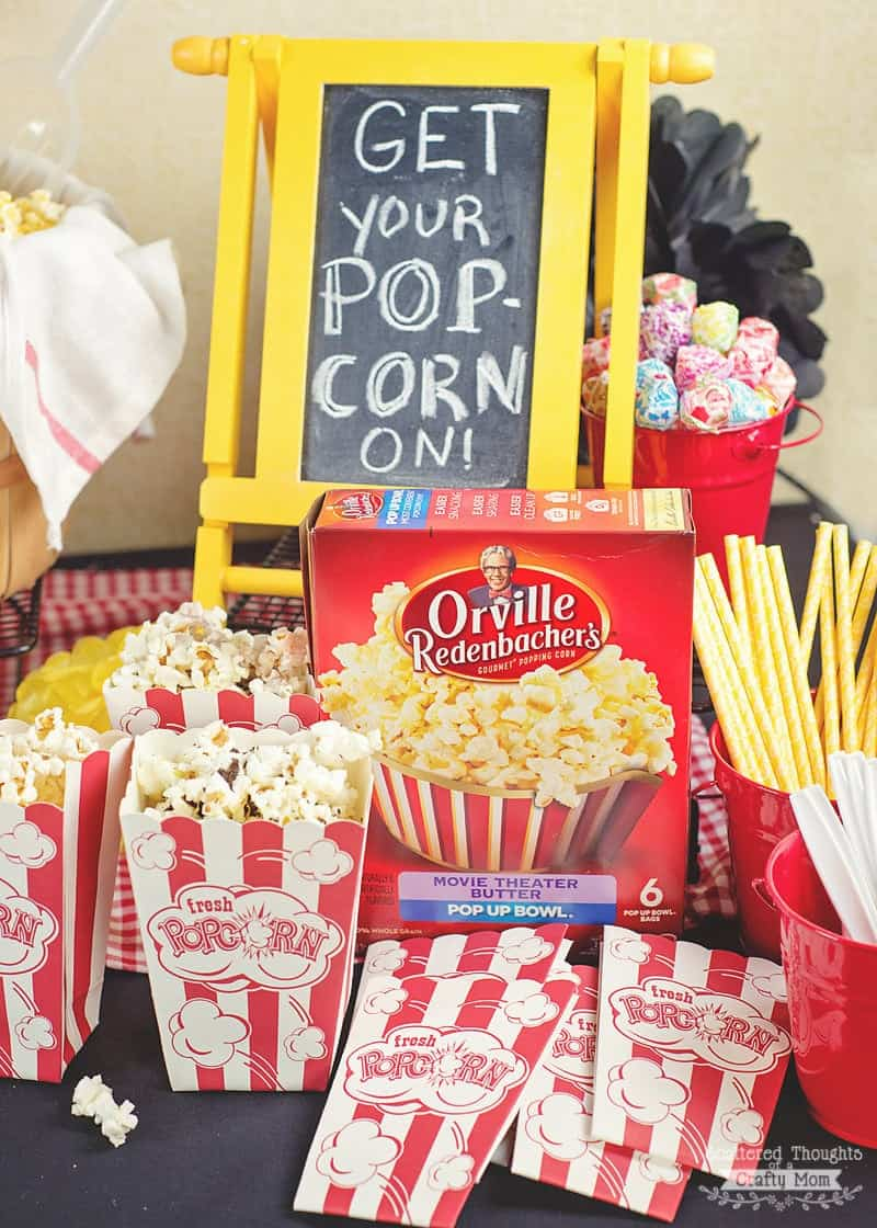 How to set up the Best DIY Popcorn Bar!