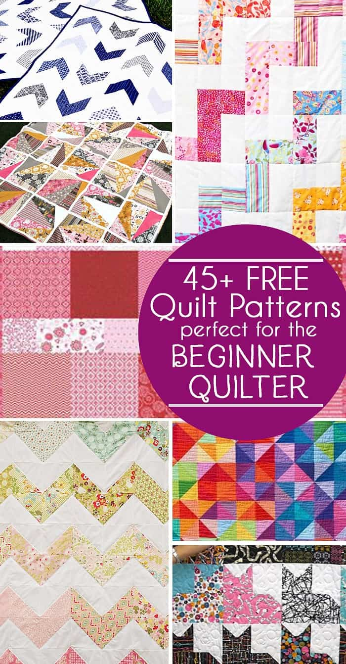 photo relating to Free Printable Machine Quilting Designs called 45 Totally free Basic Quilt Layouts - Best for Novices