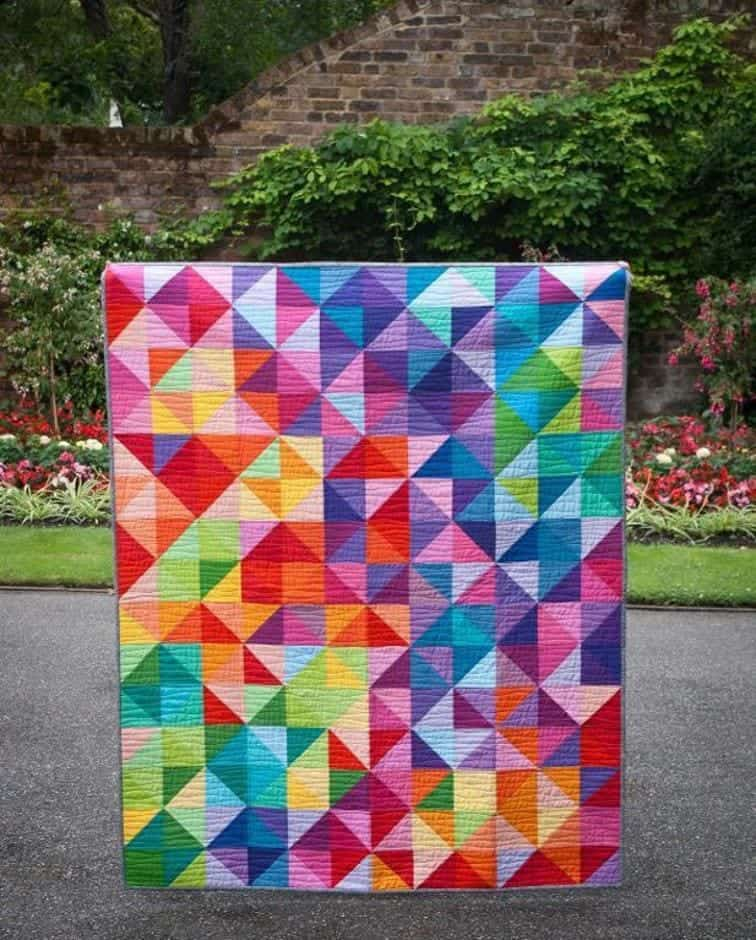 Patchwork Quilting Patterns For Beginners: 45 Free Easy Quilt Patterns
