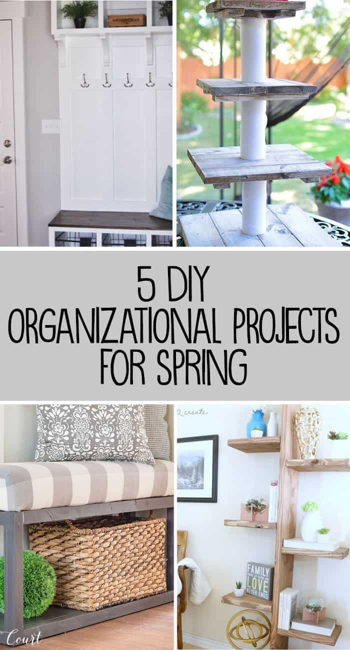 5 DIY Organizational Projects for Spring Inspiration Monday Party features