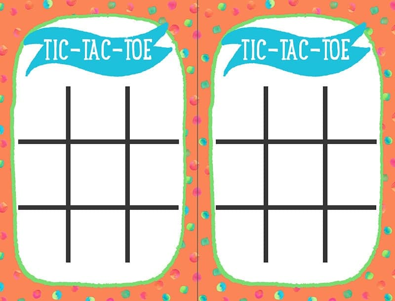 printable tic tac toe cards