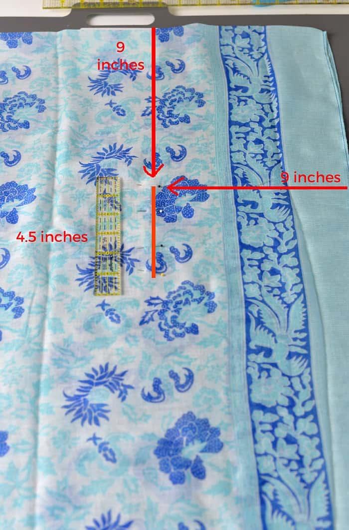 How to sew a kimono top