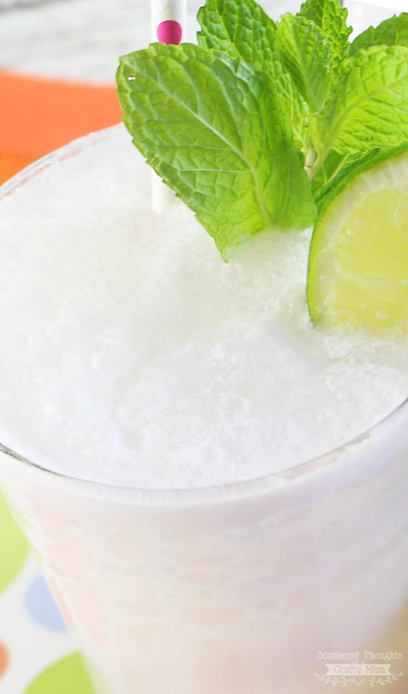Coconut rum drinks, the Frozen Coconut Mojito