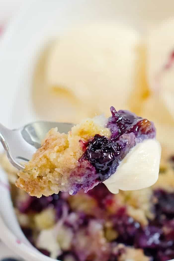 best blueberry dump cake