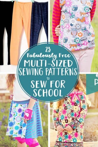 23+ Free Multi-sized PDF Sewing Patterns for School