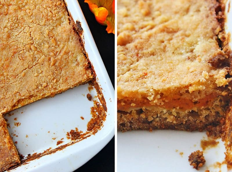 Easy Pumpkin Spice Cake Bars Recipe