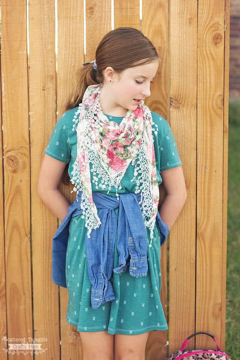 The perfect T-shirt Dress Pattern, free pdf sewing pattern, dress tutorial