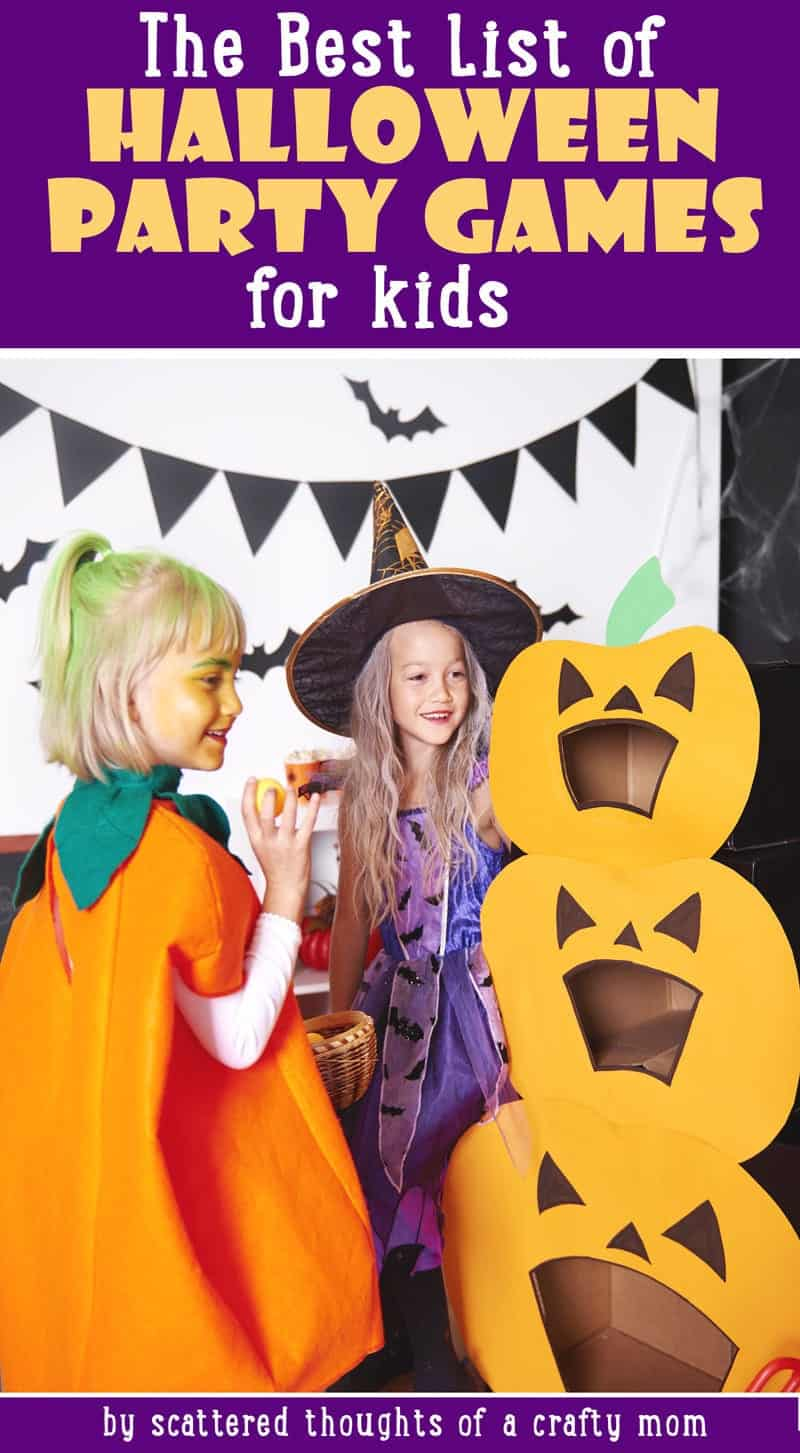 The best Halloween Party Games for kids!