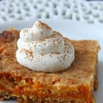 Easy Pumpkin Pie Cake Bars Recipe