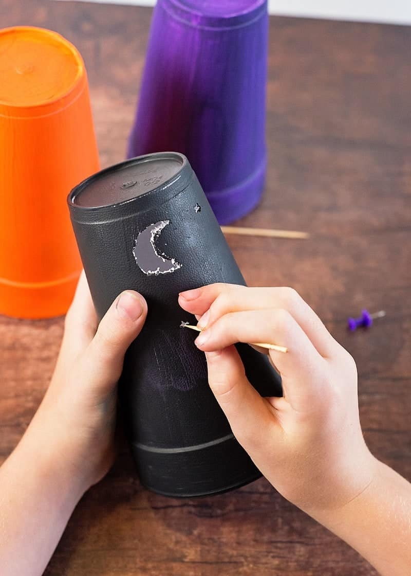 Make a nightlight from a cup