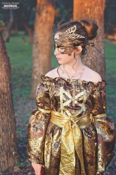Medieval Princess Costume for Halloween