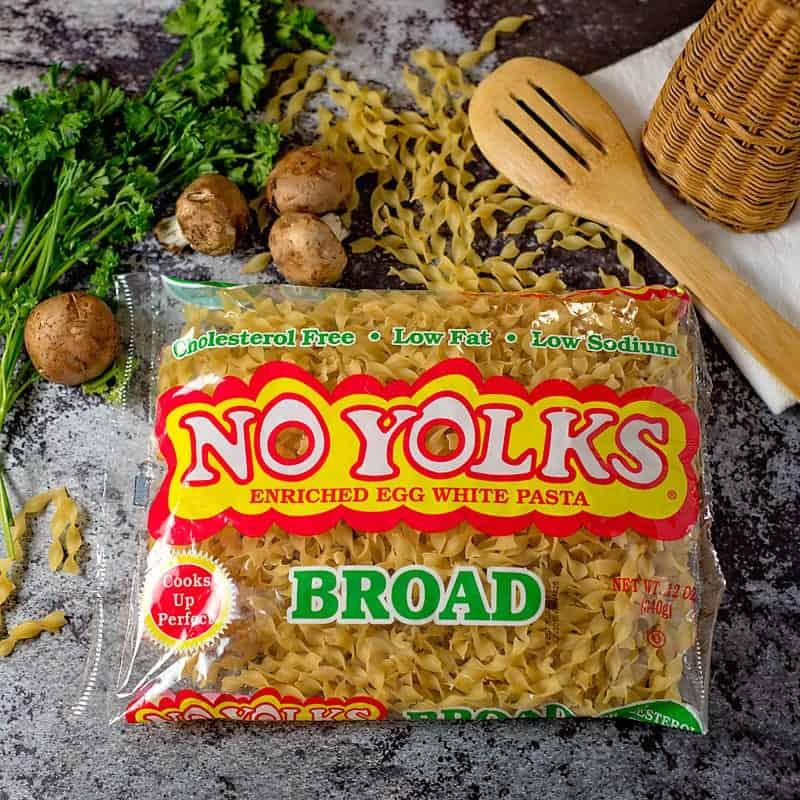No Yolks egg noodles