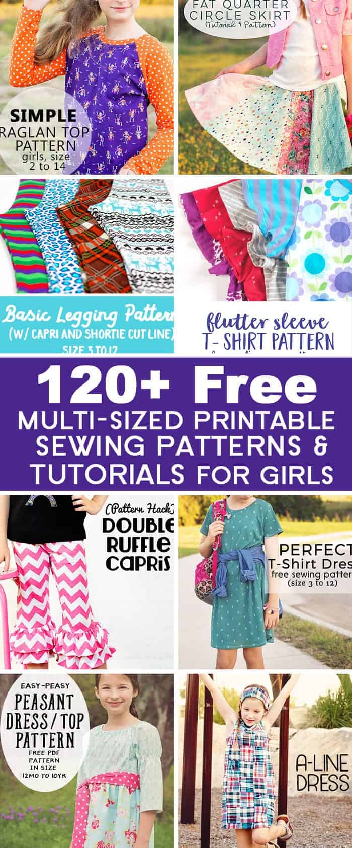 graphic relating to Printable Sewing Patterns named 120+ Cost-free PDF Sewing Routines towards Scattered Issues of a