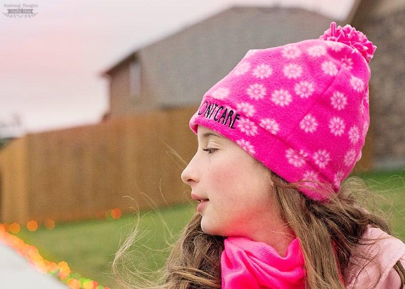 free fleece beanie hat pattern