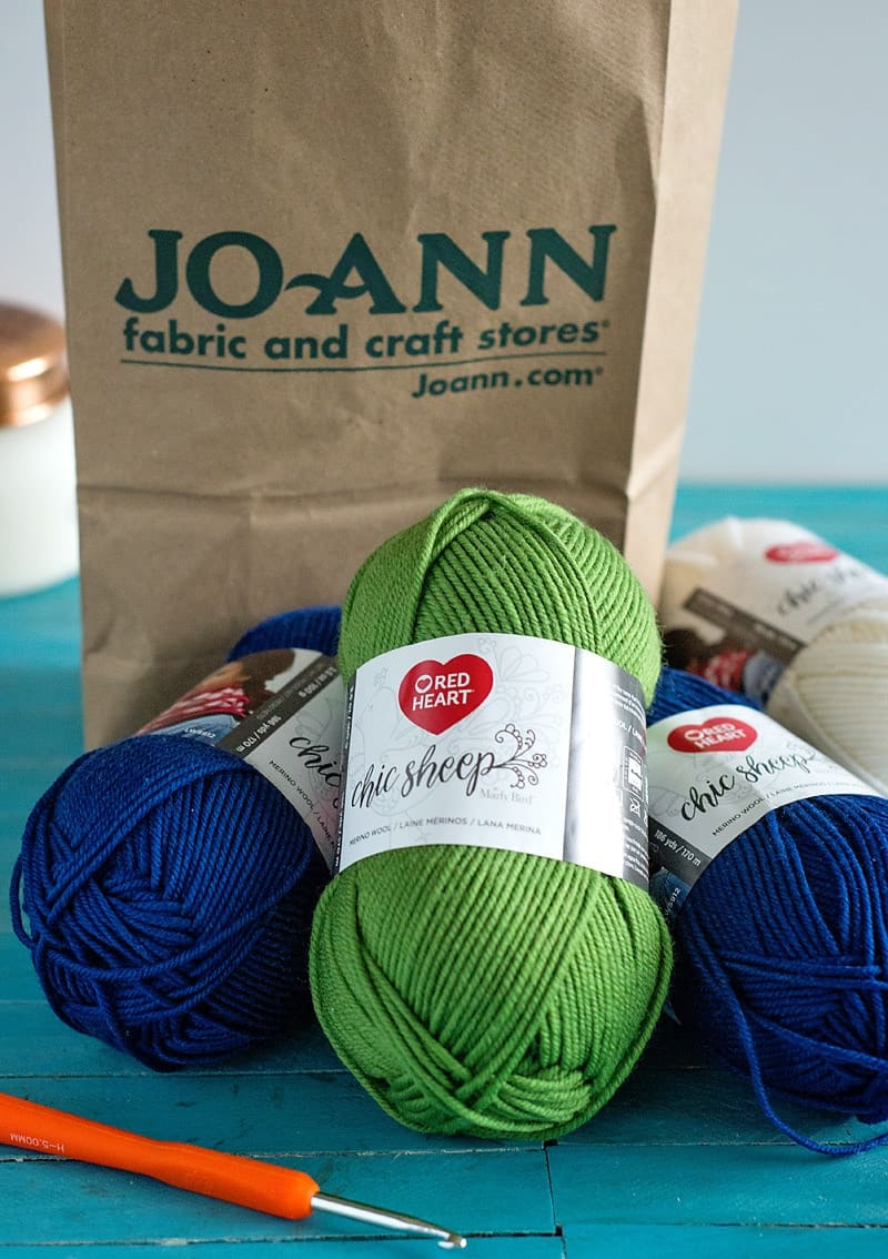 Red Heart Chic Sheep Yarn Projects