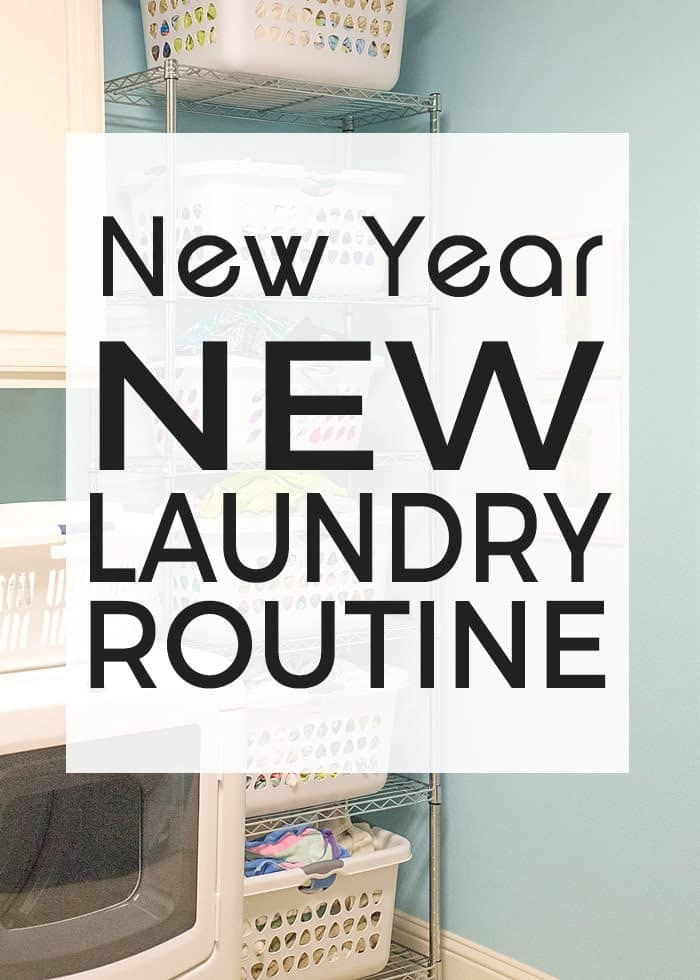 Jumpstart a new laundry Routine