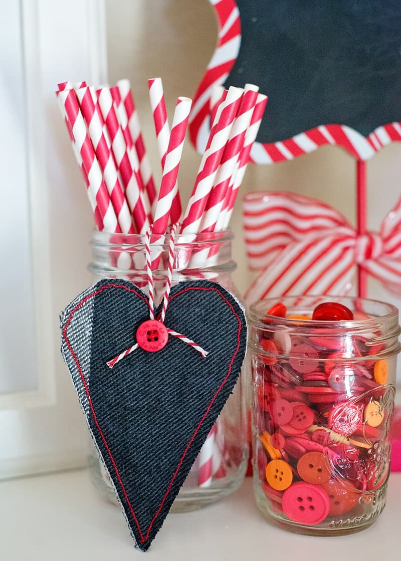 How to make a heart softie or heart gift topper