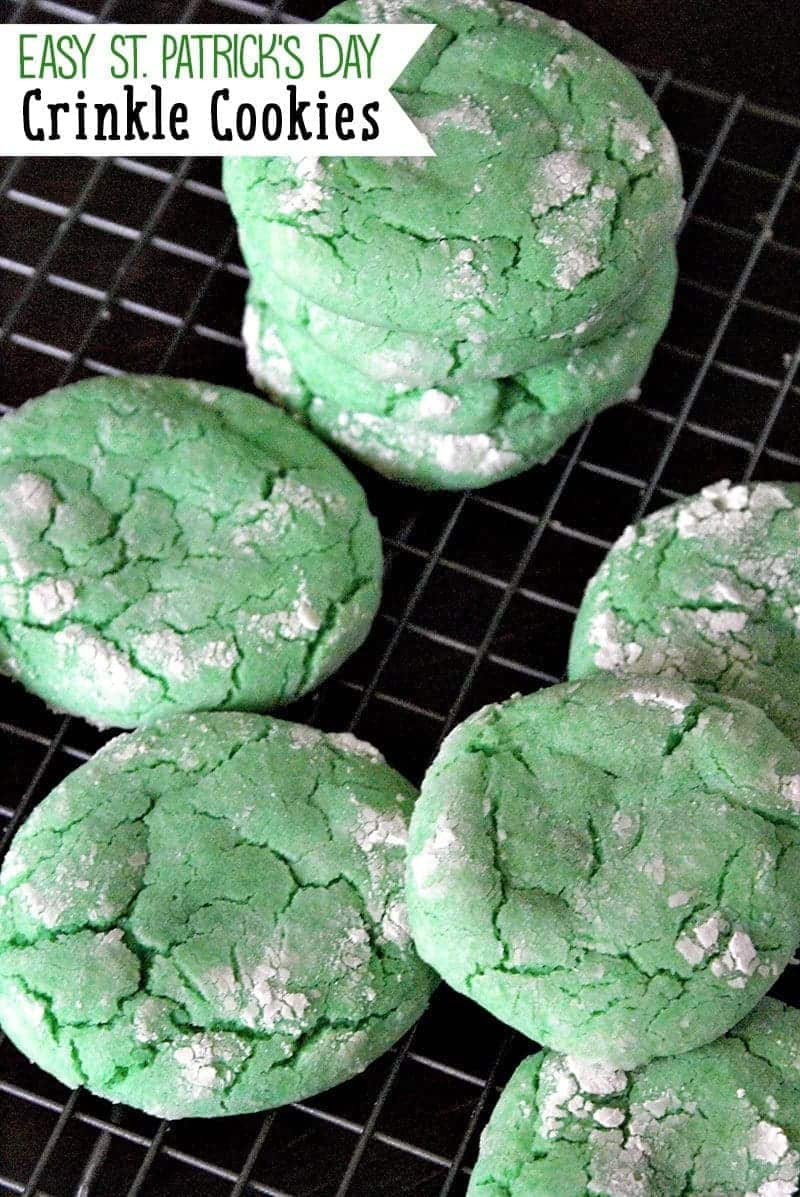 Crinkle Cookie Recipe using a boxed cake mix