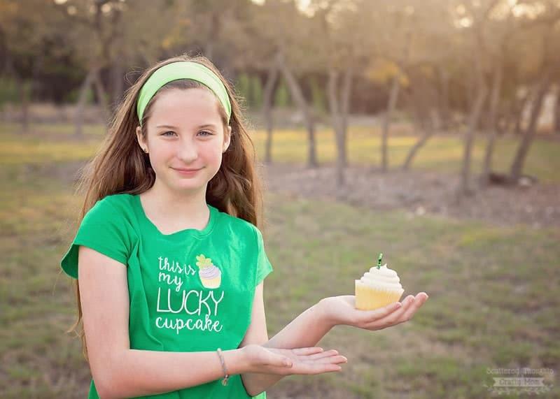 lucky cupcake printable