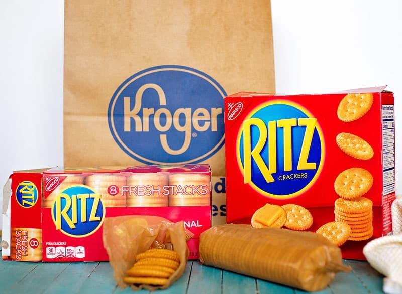 Ritz Cracker appetizers