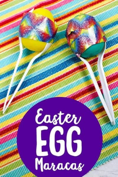 Easy Easter Egg Maracas