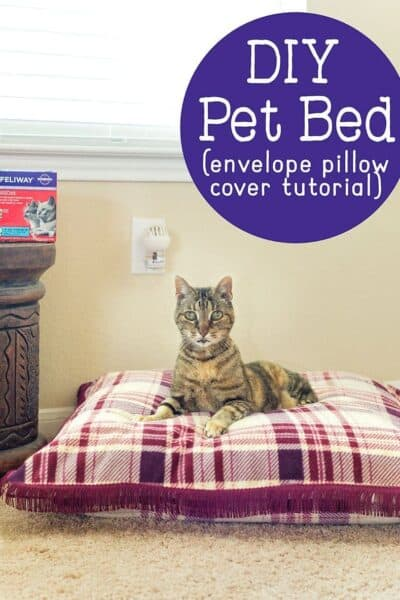 DIY Cat Bed Tutorial
